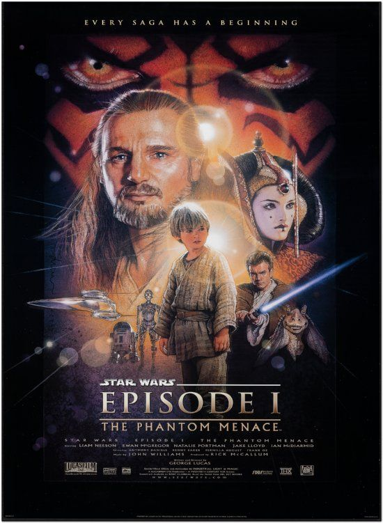 Star Wars: Episode I - The Phantom Menace - US Final Style - 1999