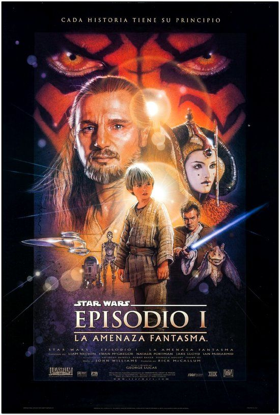 Star Wars: Episode I - The Phantom Menace - Spanish Final Style - 1999