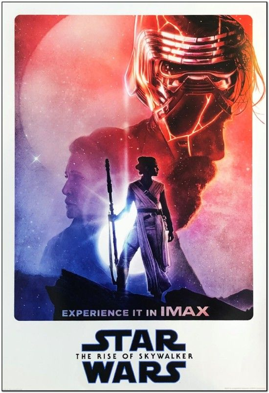 Star Wars: The Rise Of Skywalker - Imax Mini Poster