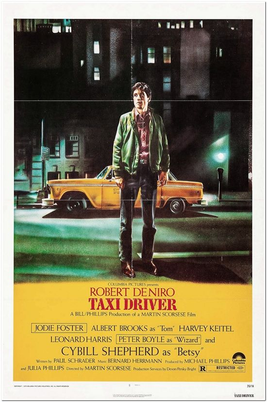 Taxi Driver - yellow style
