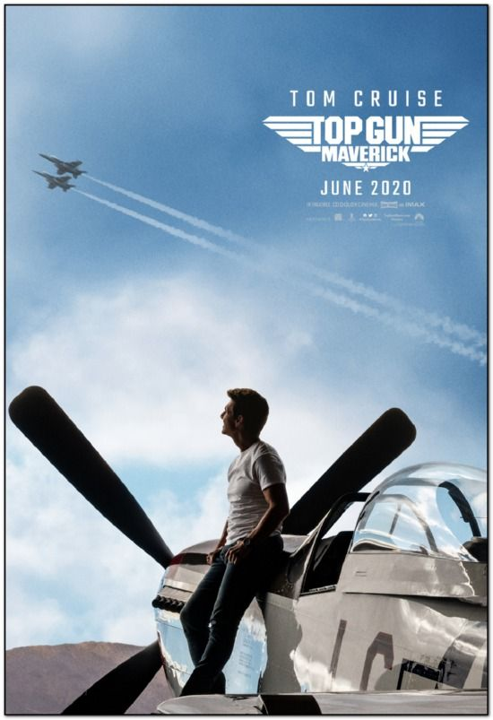 Top Gun: Maverick - 2020 - Advance Style B