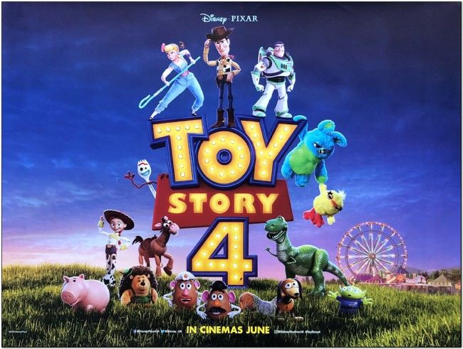 Toy Story 4 - 2019 - British Quad