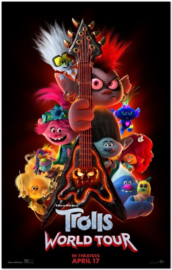 Trolls World Tour - Advance Style