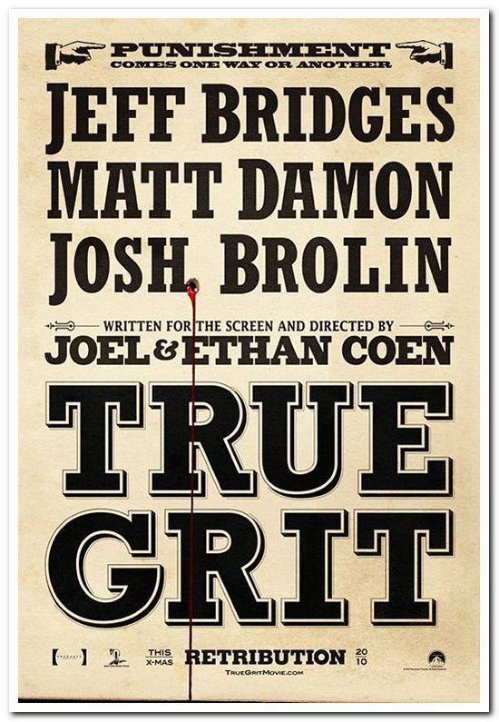 True Grit - 2010 - Advance Style