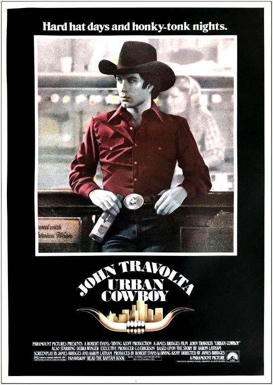 Urban Cowboy - 1980 - Mini Poster