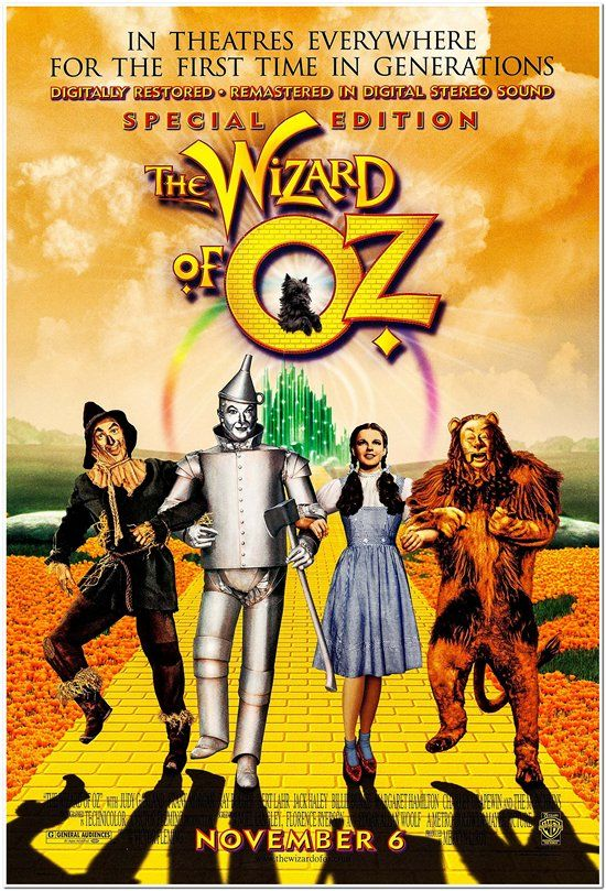 Wizard of Oz - 1998 Re-release