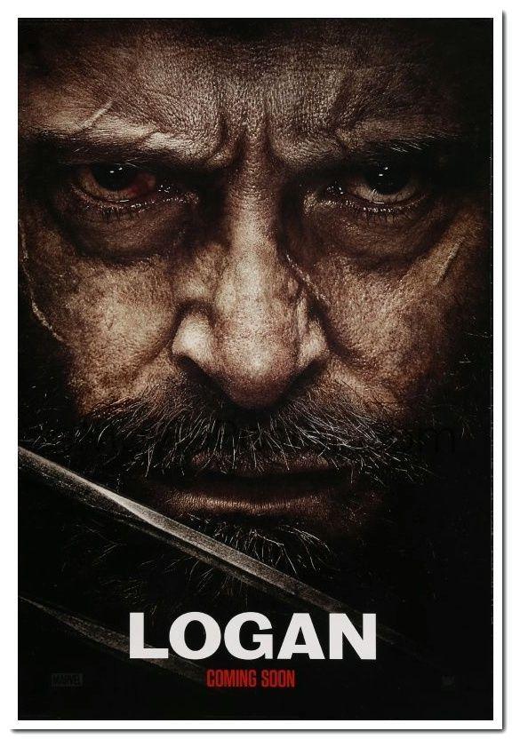 Logan 2017 Original 27x40 Intl Advance Style D Movie Poster Hugh Jackman Ebay