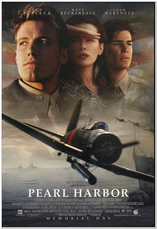 Pearl Harbor 2001 Original 27x40 Movie Poster Style A Faces Ben Affleck Ebay
