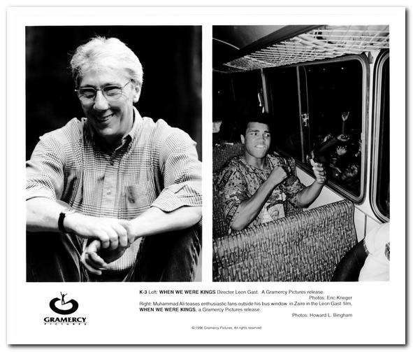 WHEN WE WERE KINGS - 1997 - Orig PRESS KIT w/ 3 STILLS, 5 SLIDES - MUHAMMAD ALI | eBay